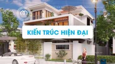 [Profile] Mẫu thiết kế nhà ở theo phong cách hiện đại mới