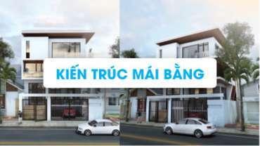 [Profile} Tổng hợp thiết kế nhà ở phong cách mái bằng đẹp