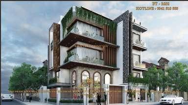 Mẫu thiết kế biệt thự hiện đại 3 tầng tại Ninh Bình