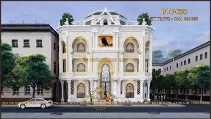 Biệt thự tân cổ 3 tầng phong cách Ấn Độ ở Bắc Ninh