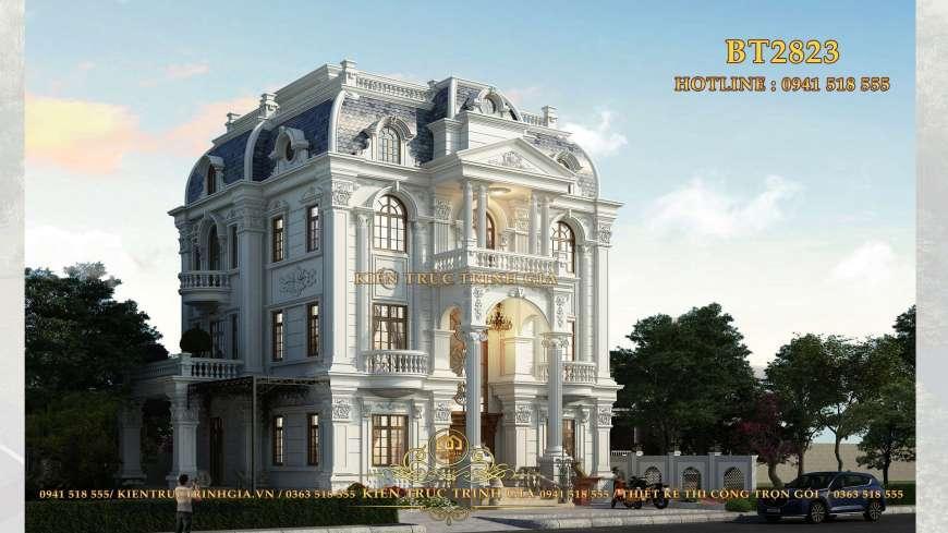 Chiêm ngưỡng biệt thự tân cổ điển phong cách châu Âu