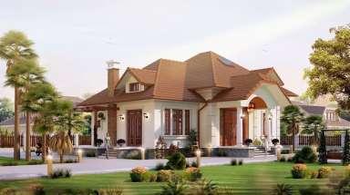 Mẫu nhà biệt thự cấp 4 đẹp với chi phí 400 triệu hoàn thiện