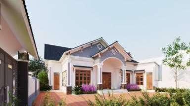 Nhà cấp 4 nhỏ đẹp với diện tích chưa đến 60m2 giá rẻ nhất