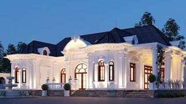 Mẫu biệt thự 1 tầng kiểu Pháp đẹp sang trọng và nổi bật nhất