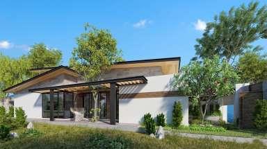 Mẫu biệt thự nhà vườn hiện đại đơn giản được yêu thích nhất