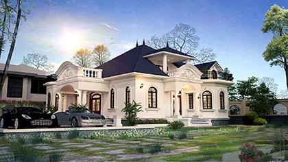Tìm hiểu về xu hướng thiết kế biệt thự 1 tầng đẹp trong kiến trúc