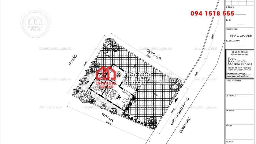 Biệt thự 2 tầng đẹp phong cách hiện đại của đại gia Lạng Sơn