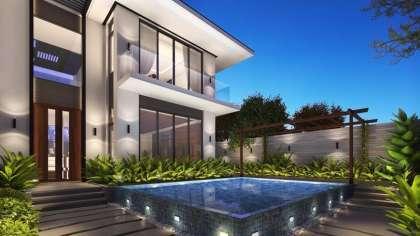 Wow!!! Thiết kế nhà biệt thự hiện đại có hồ bơi ở Đà Nẵng