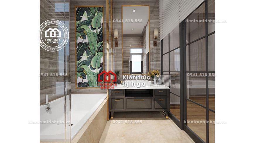 Mẫu thiết kế biệt thự 2 tầng đẹp ở Nam Định siêu tiện nghi