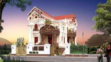 Mẫu nhà 2 tầng cổ điển đẹp nhất không thể bỏ qua và rời mắt
