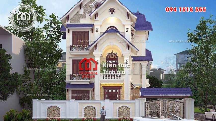 Mẫu thiết kế biệt thự sang trọng kiến trúc hiện đại đẹp nhất