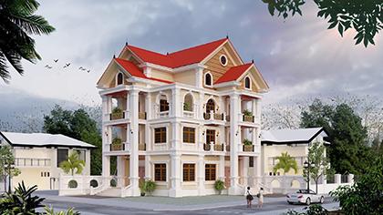 Mời bạn xem thiết kế nhà biệt thự 3 tầng hiện đại đẹp nhất!