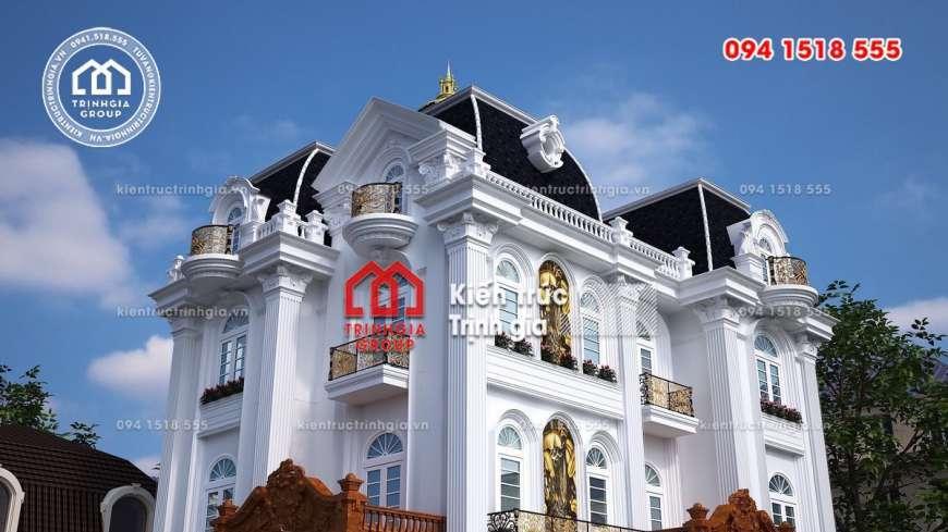 Biệt thự lâu đài Pháp đẹp ngỡ ngàng trên đất cố đô Ninh Bình