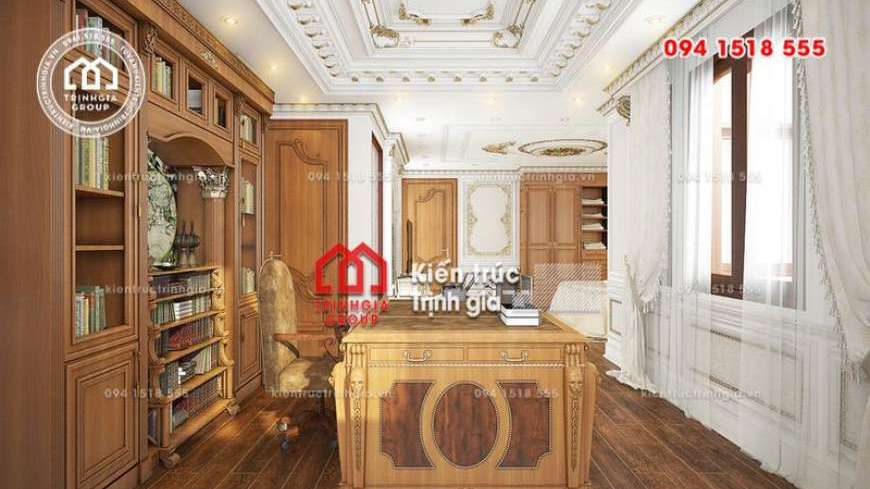 Mẫu biệt thự đẹp full hình ảnh nội thất không gian trong nhà