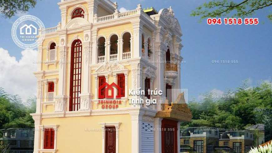 Thiết kế thi công biệt thự ở Hà Nội đẹp sang trọng độc đáo!