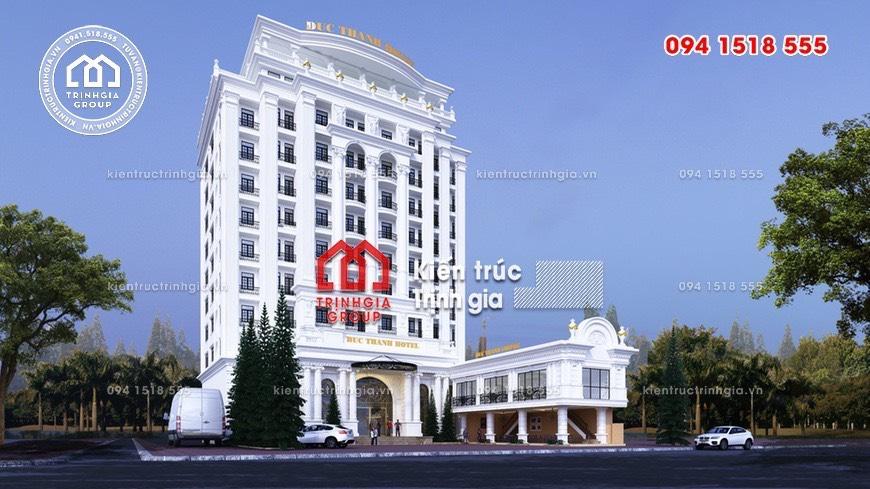 Đơn giá thiết kế khách sạn mới và chuẩn nhất của các công ty