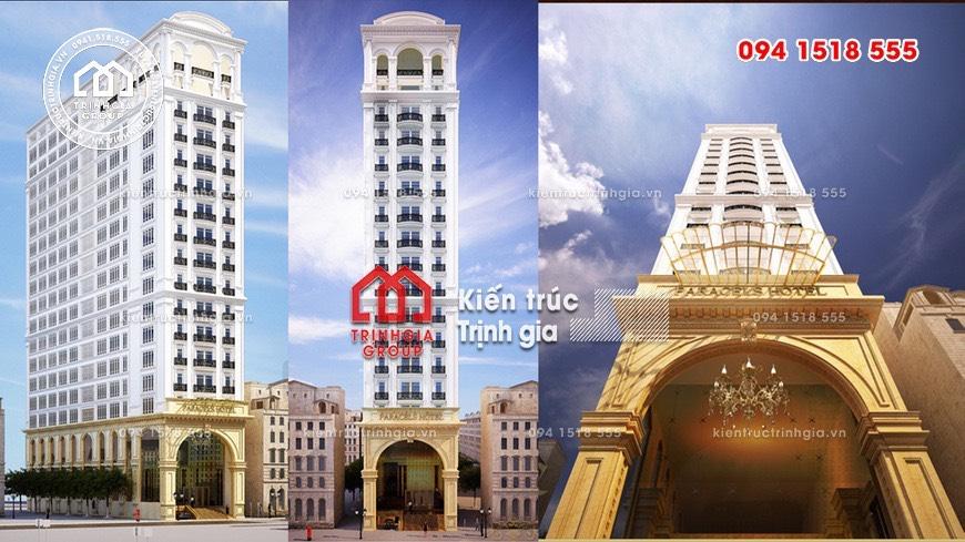 Tiêu chuẩn thiết kế khách sạn chuẩn nhất cập nhật mới nhất