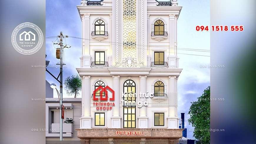 Luxury Hotel - Khách sạn tân cổ điển đẳng cấp và sang trọng