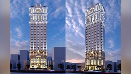 Mẫu thiết kế khách sạn 5 sao phong tân cổ điển độc đáo nhất