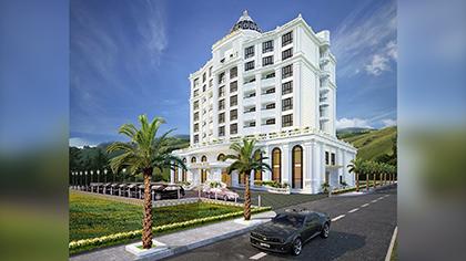 Thiết kế khách sạn 5 sao đẹp hiện đại ở Quy Nhơn, Khánh Hoà