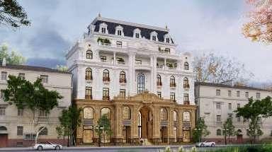 Mẫu khách sạn đẹp ở Hà Nội phong cách thiết kế tân cổ điển