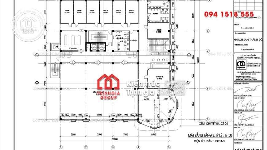 Thiết kế khách sạn đẹp ở Nha Trang với tiêu chuẩn 4 sao mới