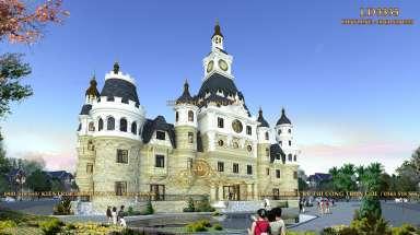 Lâu đài 3 tầng cổ điển kiến trúc Phục Hưng ở Đà Lạt