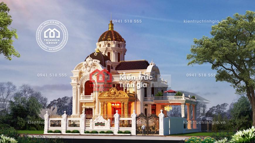 Biệt thự lâu đài phong cách kiến trúc Pháp cổ điển bậc nhất!