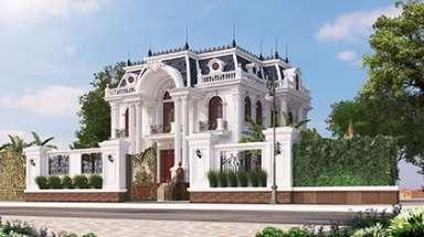 Thiết kế lâu đài dinh thự đẹp say mê ở TP Việt Trì Phú Thọ