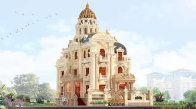Biệt thự lâu đài 3 tầng tân cổ điển đẹp ở Long Biên, Hà Nội