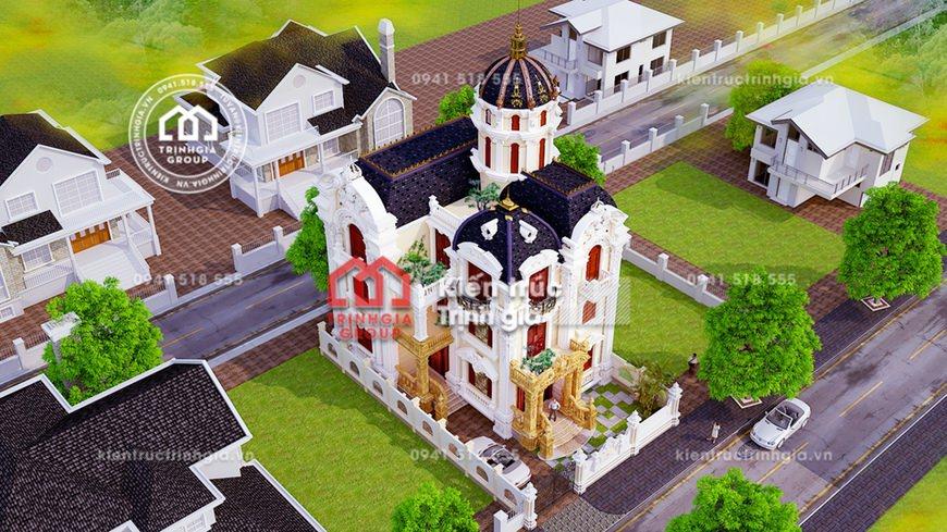 Biệt thự lâu đài - Sự sang trọng quý phái và đẳng cấp mới!