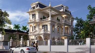 Chiêm ngưỡng vẻ đẹp duy nhất của biệt thự kiểu pháp 3 tầng