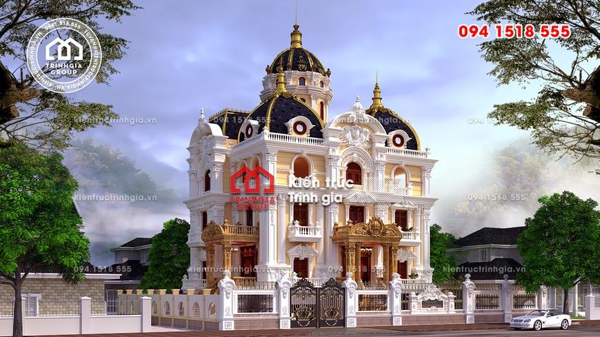 Không thể rời mắt lâu đài ở Ninh Bình giá trị nghìn tỷ đồng