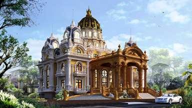 Lâu đài tân cổ điển khủng ở việt nam với thiết kế độc nhất