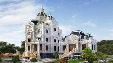 Lâu đài đôi đẹp với mức đầu tư 30 tỷ choáng ngợp ở Ninh Bình