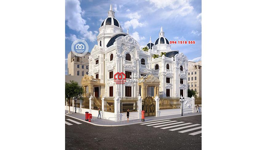 Lâu đài đôi ở Ninh Bình có vẻ đẹp thu hút mọi ánh mắt đi qua