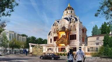 Siêu lâu đài khủng nhất ở Hải Phòng có thiết kế Pháp cổ điển