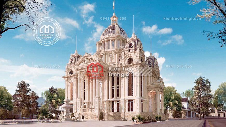 TOP 10 công ty thiết kế biệt thự lâu đài kiểu Pháp lớn nhất!