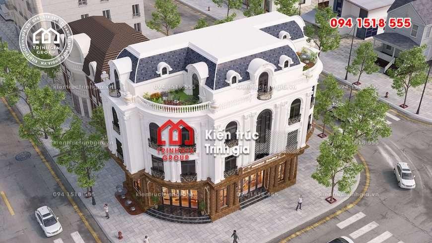 Mẫu nhà hàng nhỏ đẹp kiểu Pháp tân cổ điển ở giữa lòng TPHCM