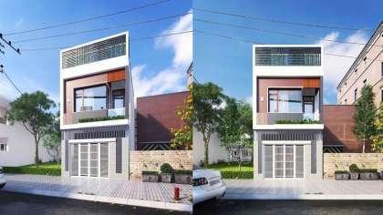 WOW!!! Mẫu thiết kế nhà hộp 2 tầng đẹp kiến trúc hiện đại