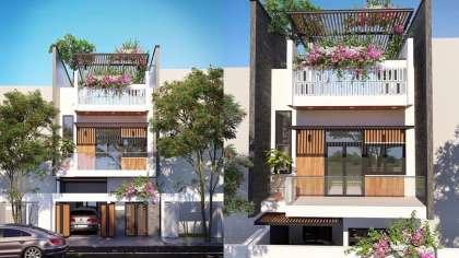 Bí quyết có được thiết kế nhà phố 2 tầng giá rẻ đơn giản đẹp