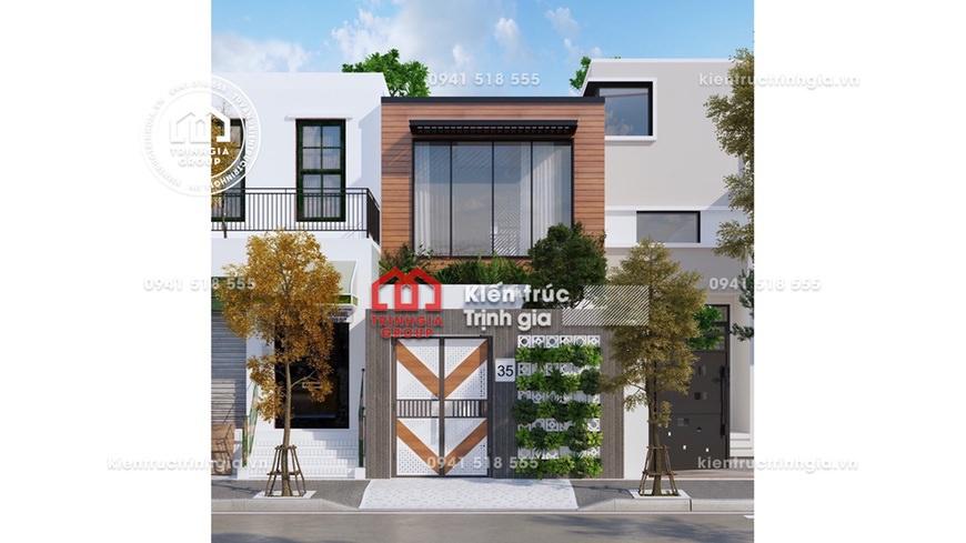Click ngay bản vẽ thiết kế nhà phố có sân thượng đẹp nhất!