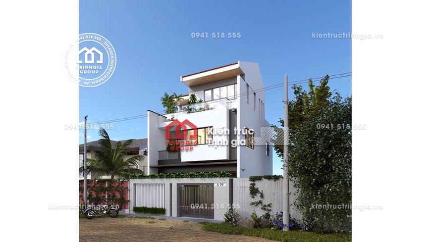 Lọt ★ TOP ★ mẫu thiết kế nhà phố 2 tầng được yêu thích nhất
