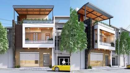 Thiết kế nhà phố 2,5 tầng trên mảnh đất 7x15m hiện đại nhất!