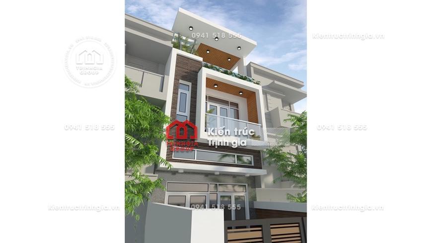 Rung động với mẫu thiết kế nhà phố 3 tầng đẹp nhất Hải Dương
