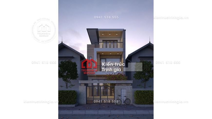 Thiết kế nhà phố 3 tầng đẹp không tưởng chỉ dưới 800 triệu?
