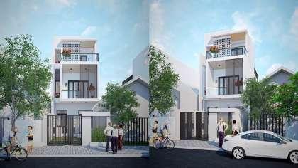 Không thể bỏ qua mẫu thiết kế nhà phố 3 tầng 5x20m hiện đại