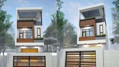 Đắm chìm trong thiết kế nhà phố 3 tầng 5x20m hiện đại nhất!