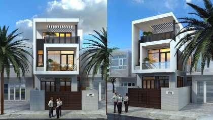 Kiến trúc mới sang trọng trong thiết kế nhà phố 5x20 3 tầng