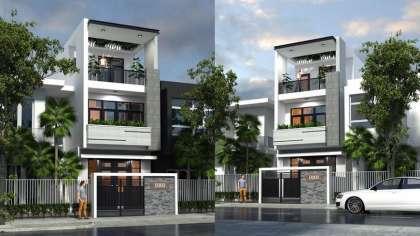 Săn lùng mẫu thiết kế nhà phố 5x20 3 tầng đẹp nhất Nam Định